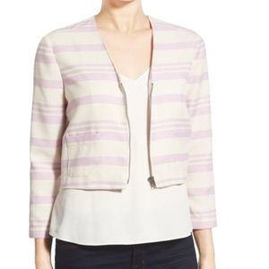 NWT Cupcakes and Cashmere Crop Jacket Blazer XS